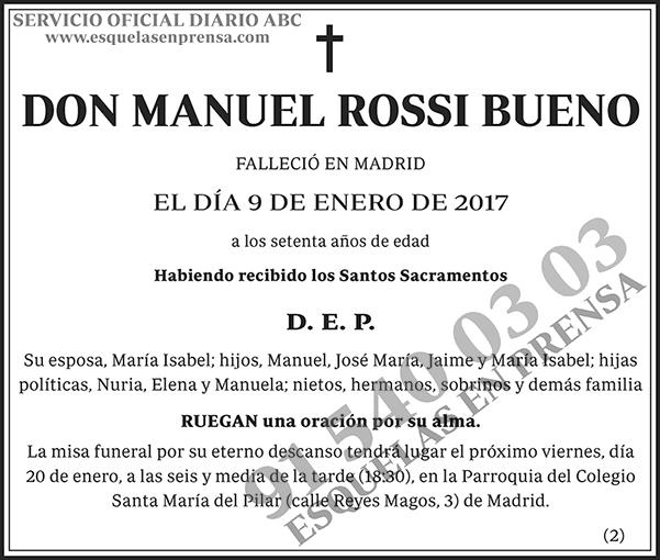 Manuel Rossi Bueno